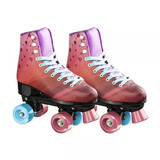 Patins Rollers 4 You Quad Tam. 37 Rosa Multikids - Br924