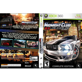 Jogo Midnight Club Los Angeles Para Xbox 360 Destravado