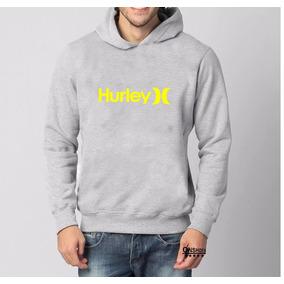 Moletom+hurley - Moletom Masculinas Prateado no Mercado Livre Brasil 29916149d63