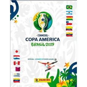 Álbum Copa America 19 Completo Capa Cartão C/fig P/ Colar