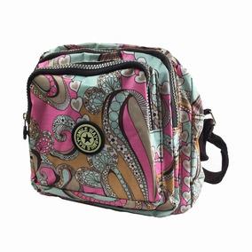 Bolsa Mariconera Dama Diseños Kawaii Impermeable +envíograti