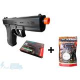 Pistola Glock Airsoft Spring G7 + Bbs 6mm 0.12g 2.000 Uni