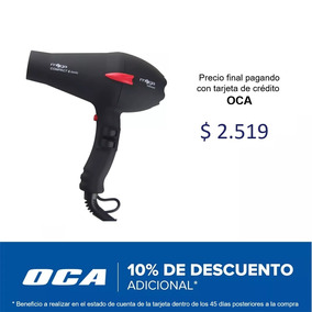 Secador De Pelo Profesional Mega At3200 Compact 2200w Nice