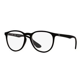 Armação Oculos Grau Ray Ban Rb7046l 5364 53mm Preto Fosco 697691d429