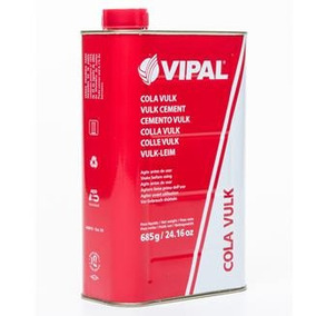 Cola Quente Preta P/ Reparo Vulk 900ml Manchão - Vipal