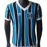 4d02065833 Camisa Retrô Grêmio Tricolor Comemorativa 1973 P no Mercado Livre Brasil