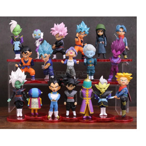 Miniaturas Dragon Ball 18 Bonecos Estatuetas Action Figure