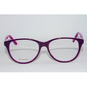 a501583994ce2 Armação Óculos Grau Feminino Maria Flor Zd1028-marisa+brinde