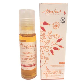 Aceite Extra-virgen De Rosa Mosqueta Ambar 12ml