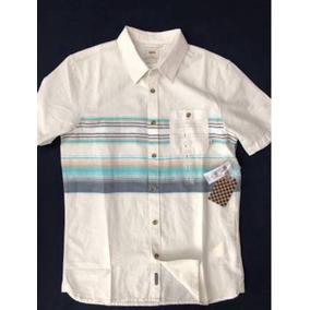 Camisa Vans Diseño De Lineas