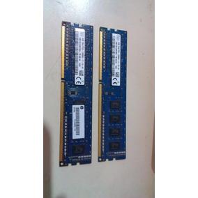 Memoria Hp Y Lenovo 4gb Ddr3 Pc3-12800 Como Nuevas