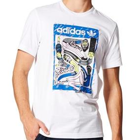 Playera Originals City Artist Hombre adidas Bq3066 Talla M