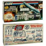 Oferta G.i.joe Cobra Missile Command Headquarters Cuartel *
