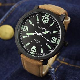 bec5b9e7d78 Relogio Yazole 319 - Relógios De Pulso no Mercado Livre Brasil