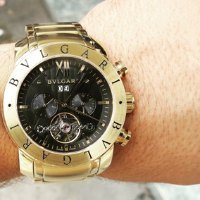 70cd497e94ed3 Relogio Bvlgari Iron Man Automatico Luxo Masculino - Relógio Bvlgari ...