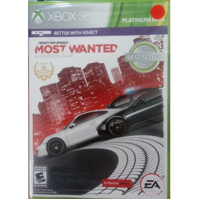 Need For Speed Most Wanted Xbox 360 Novo Lacrado