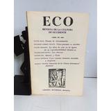 Revista Eco, Abril De 1968, No. 96