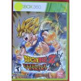 Dragon Ball Ultimate Tenkaichi Xbox 360