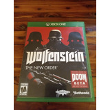 Wolfentein The New Order Para Xbox One Como Nuevo