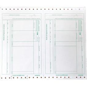Formulario Continuo Impresso Rec.pagto Lab04 3vias Carbonad