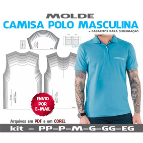 1ac41a2ac6 Moldes Camisa Masculina Slim - Beleza e Cuidado Pessoal no Mercado ...