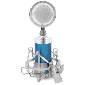 Microfone Condensador Bm 8000 Com Aranha +braço Artculado