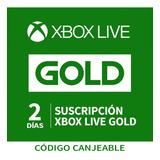 Tarjeta Xbox Live Gold - 2 Dias - 12 Meses Gift Card Usa