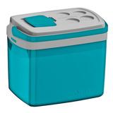 Caixa Térmica Soprano 32 Litros Azul Super Promoção Ótima