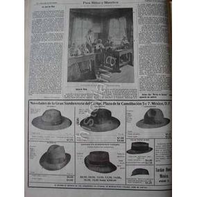 Publicidad Antigua 1912 Tienda Sombreros El Castor Y Otros 1763cf76a2e