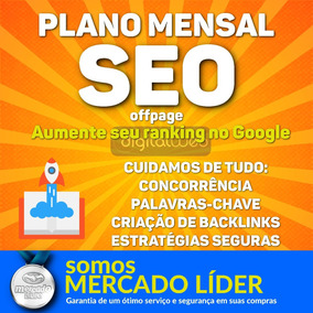 Plano Mensal Seo Off Page Bronze - Backlinks Pbn Edu/gov