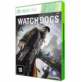 Jogo Watch Dogs Para Xbox 360 Dvd Midia Original Lacrado