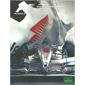 Revista Programa Oficial Guia Gp Brasil Fórmula 1 - 2017