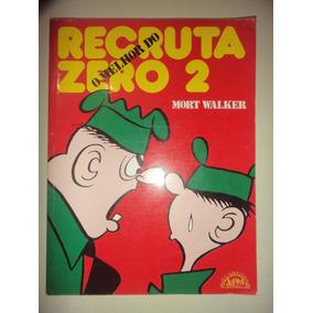 O Melhor Do Recruta Zero 2 Quadrinhos Lpm Capa Cartonada
