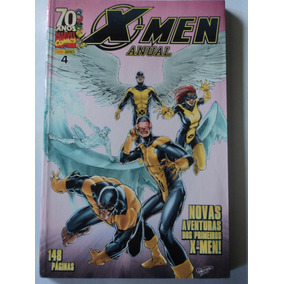 Hq-x-men:anual:marvel#4:panini Comics:148 Páginas
