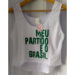 Camisa - Cropped Regatas em Rio de Janeiro no Mercado Livre Brasil eff3806e08acf
