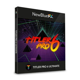 Newblue Titler Pro 6 Ultimate X64 Versão 2019