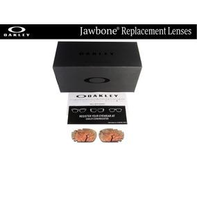 Micas De Reemplazo Para Oakley Jawbone Color Copper Gold