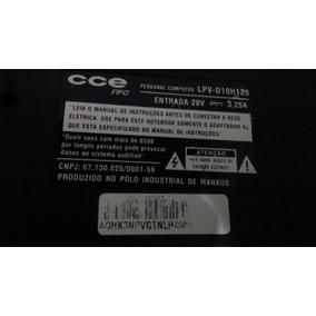 Notebook Cce Lpv-d10h120 Core 2 Duo Com Defeito