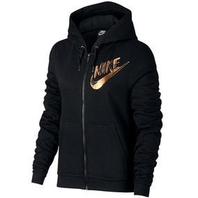de096b544520d Sudadera Nike Con Gorro Metallic Logo Mujer Original A Meses
