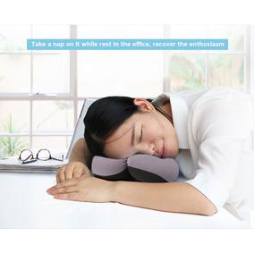 Annular Siesta Neck Almohada Oficina Sueño Cushion Círculo