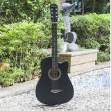 Guitarra Acustica Cutawya 38+bolso Transportador+colgador