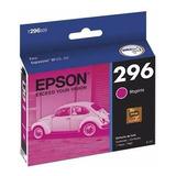 Cartucho Epson T296 Magenta Original Tinta 4 Ml T296320