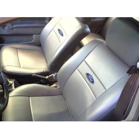 Capa P Bancos De Couro Courvin Ford Fiesta Sendan Flex 1.6