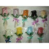 10 Rosas De Chocolate Souvenir Eventos Cumpleaños Primavera