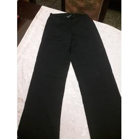 Pantalon Negro Con Cierre Dorado - Pantalones de Mujer en Mercado ... 061dbe574db5