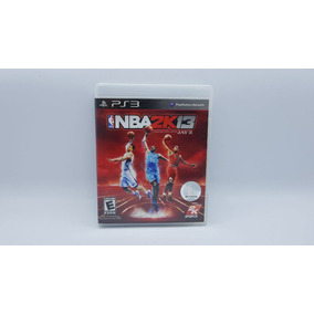 Nba 2k13 - Ps3 - Midia Fisica Em Cd