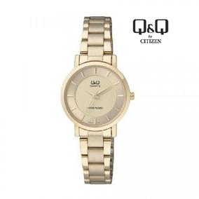 Relógio Feminino Bracelete Doura Qeq F284-003y À Prova Dágua