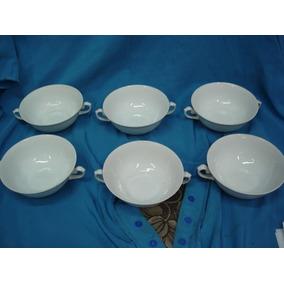 Terrinas Para Sopa Porcelana Real ( 06 Peças ) Antigas