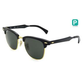 51 Polarizado De Sol Ray Ban Clubmaster Aluminum Rb3507 - Óculos no ... b85fadee35