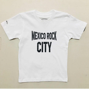 México Rock City Playera Niño Baby Rock